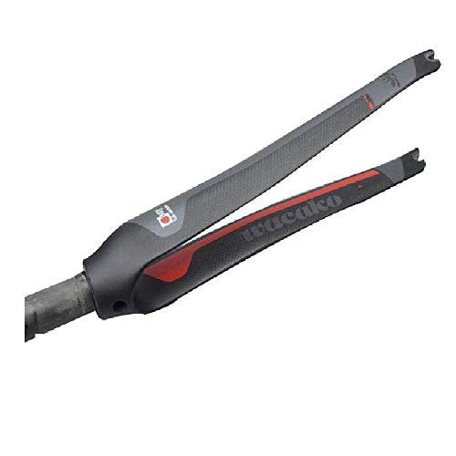 wacako Full Carbon MTB Fork Ultralight Carbon Fiber Front Mountain Bike Road Bike Fork Bicycle Forks Black Matte
