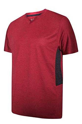 5-Pack-Mens-V-Neck-Dry-Fit-Moisture-Wicking-Active-Athletic-Tech-Performance-T-Shirt