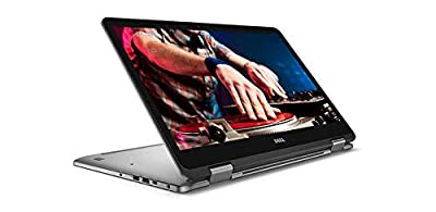 "Dell Inspiron 7000 17.3"" 2-in-1 FHD IPS Touch-Screen Top Performance Laptop Computer, Intel i7-8550U up to 4.0GHz, 16GB DDR4, 2TB HDD, HDMI, USB-C, Backlit Keyboard, NVIDIA MX150, Windows 10"