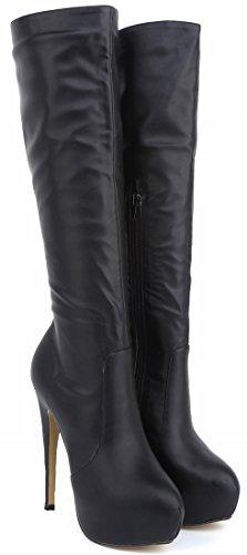 CFP - Zapatillas altas mujer negro