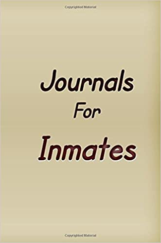 Amazon com: Journals For Inmates: Blank Journal Notebook To
