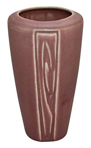 (Rookwood Pottery 1923 Mauve Arts and Crafts Ceramic Vase 1912)
