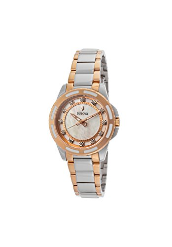 Diamonds Ladies Womens Watch - Bulova Women's 98P134 Diamond Dial Watch