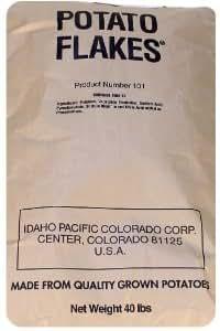 Amazon.com: Instant Potato Flakes - 40 Pound Bag
