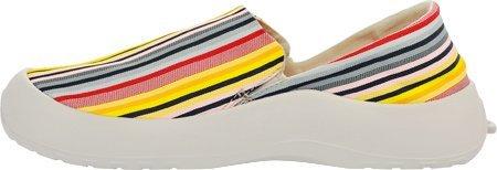 SoftScience The Drift Canvas Men's/Women's Slip On Shoes B00WIJPPBU 11 Men's / 13 Women's|Label Stripe