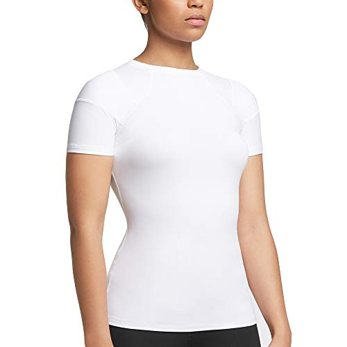 Tommie Copper Women's Pro-Grade Shoulder Centric Support Shirt, White, Large by Tommie Copper (Image #7)