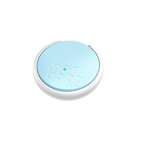 New MonBaby Smart Button - a Smart Breathing and Movement Monitor - Blue