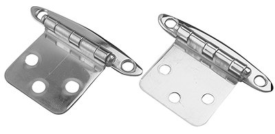 Sea Dog 201954-1 Stainless Steel Flush-Mount Concealed Hinge, 2-3/4 x 1-7/8-Inch