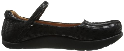 Kalso Earth Solar Kalso Womens Pebble Black Suede Flat Earth HrnOqH
