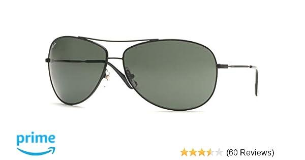 9f490546d Amazon.com: Ray-Ban Men's Rb3293 Aviator Sunglasses Matte Black 63.0 ...