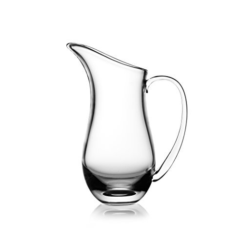 9 Inch Pitcher - Nambe Moderne Glass Pitcher, 9-Inch