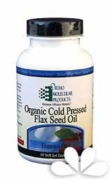Ortho Molecular Products Flax Seed Oil Soft Gel Capsules, 90 Count (Ortho Molecular Products Omega 3)
