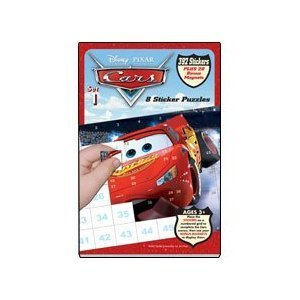 Disney Pixar Cars Sticker Puzzles - Book 1