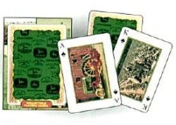 John Deere Vintage Ad Playing Cards