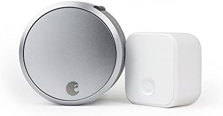 August SL03C02S03 Smart Lock Pro + Connect - Silver AUG-SL03-C02-S03