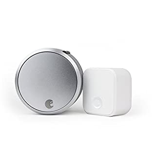 August Smart Lock Pro + Connect Wi-Fi Bridge, 3rd gen Technology - Silver, Works with Alexa, HomeKit & Zwave. (B0752V8D8D) | Amazon price tracker / tracking, Amazon price history charts, Amazon price watches, Amazon price drop alerts
