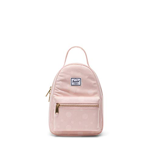 (Herschel Nova Mini Backpack, Polka Cameo Rose, One)