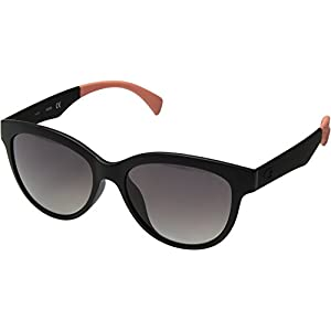 GUESS Women's Acetate Polarized Round Sunglasses, 02D, 53 mm