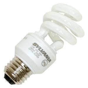 Sylvania 11 Watt Super Mini Twist Compact Fluorescent Bulb