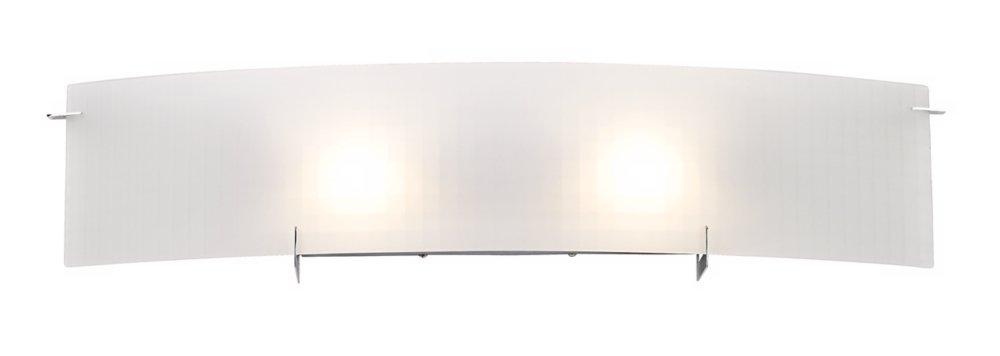 Soho 33 3/4'' Wide Checkered Glass Bathroom Light Fixture by Possini Euro Design
