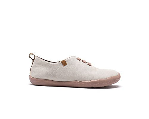 UIN White Pure White Men's Greece Canvas Off Loafer Color Shoe BESErx