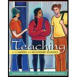 Teaching in the Middle & Secondary Schools by Carjuzaa,Jioanna; Kellough,Richard D.. [2012,10th Edition.] Paperback