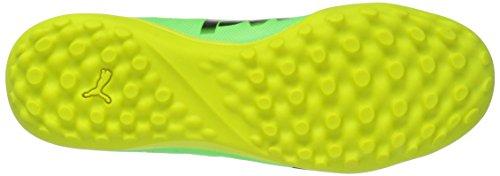 Puma Heren Evopower Kracht 4 Tt Voetbalschoen Green Gecko-puma Black-veiligheidsgeel