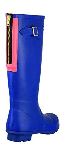 Cotswold - Purple - Pull-On Wellingtons - Size 3 4 5 6 7 8 azul - azul