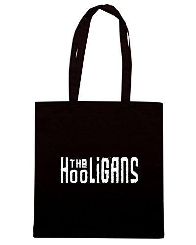 T-Shirtshock - Bolsa para la compra TUM0124 THE HOOLIGAN Negro