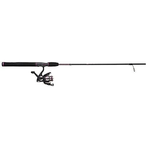 Shakespeare USLDSP602M/30CBO Women's Ugly Stik GX2 2-Piece Fishing Rod and Spinning Reel Combo, 6 Feet, Medium Power ()