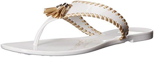 Jelly Flip Flop Sandals - 9