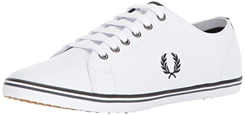 Fred Kingston White Leather Perry 39 Zrxnq5Z8