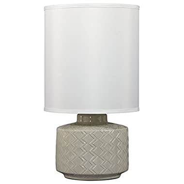 Signature Design by Ashley L800064 Ceramic Table lamp, Gray