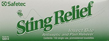 Sting Relief 150 Packet Box - Pack of 6