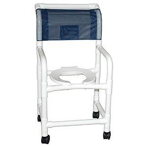 MJM E118-3TW-FF-LSB-18-SQPAIL Echo Standard Chair with La...