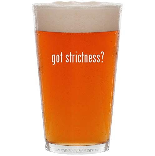 Price comparison product image got strictness - 16oz All Purpose Pint Beer Glass