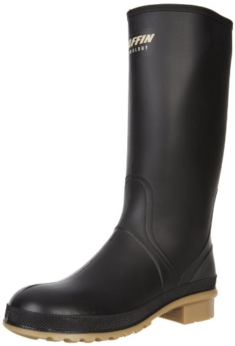 Baffin Women's Prime Rain Boot,Black/Amber,9 M US