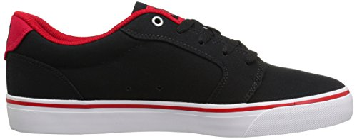 Shoe Men's DC Skate Anvil White TX Red Black wq1Szq