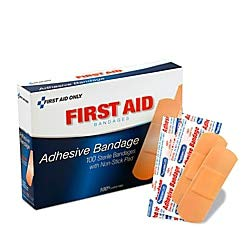 - PhysiciansCare by First Aid Only by First Aid Only First Aid Plastic Bandages, Box of 100, 1