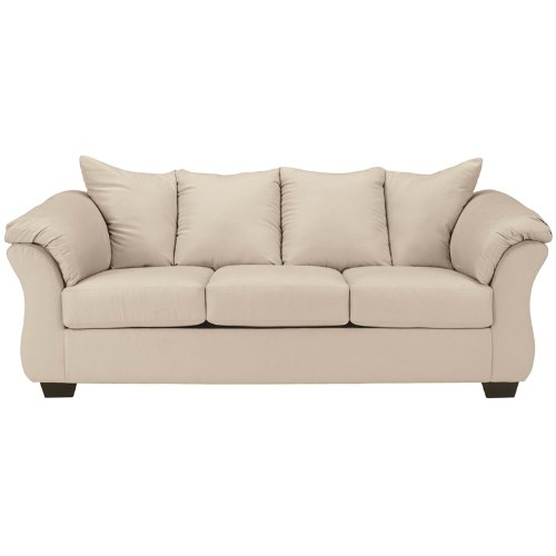 Signature Design by Ashley Darcy Sofa in Stone Fabric