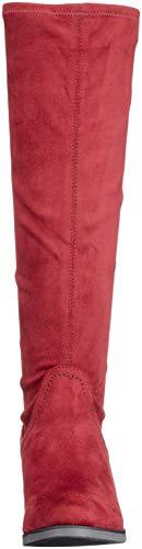 544 Stre Red Boots Women's Ankle Bordeaux Caprice 25506 xqBP0wvn