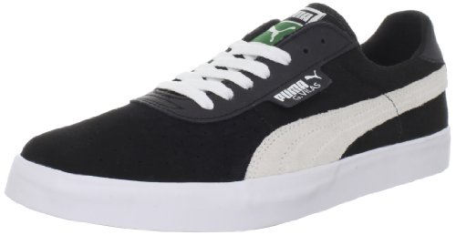 Puma Mens Gv Vulc Lace-up Mode Sneaker Noir / Blanc