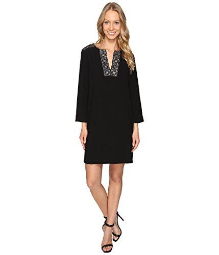 karen-kane-embellished-shift-dress-black-womens-dress