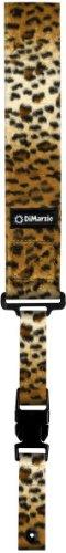 - DiMarzio DD2230 Cliplock Guitar Strap Cheetah