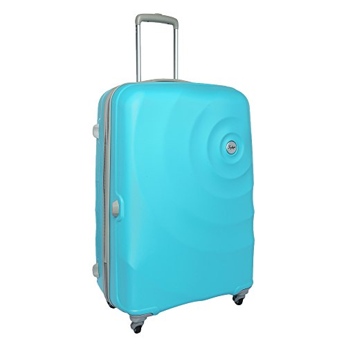 Skybags Mint 80 cms Polycarbonate Turquoise Hardsided Check-in Luggage (SKYBAGS Mint STROLLY 79 360° TRQ)