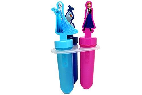 Disney Popsicle Maker Molds, Frozen, 1-Pack (3 Popsicle Molds in Total)