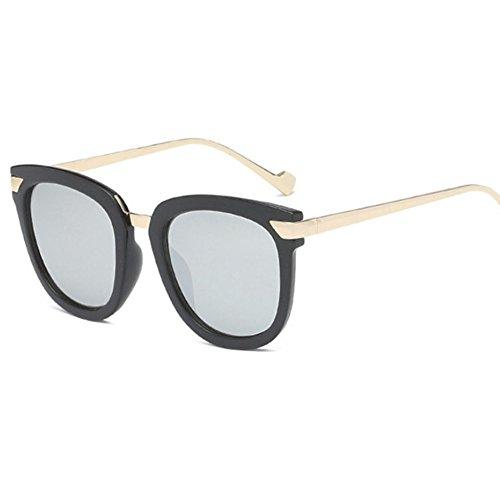 Aoligei Pilote HD lunettes de soleil, lunettes de mode miroir D