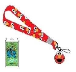 SESAME STREET ELMO RED NYLON LANYARD with ID Badge and -