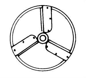 Electrolux-Dito AF306-Julienne Blade 1/4'' - 653198