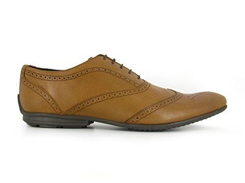 J.Bradford Zapatos Hombre De Vestir Richelieu OLIVER Cuero